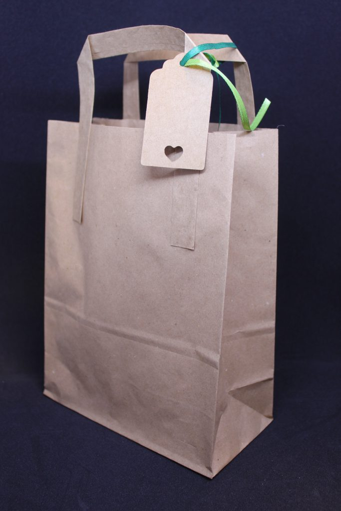 LHL_2020_007a: Photograph of a brown paper bag.